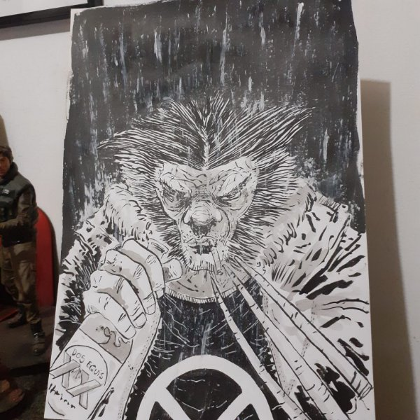 Wolverine - Arte Original A4