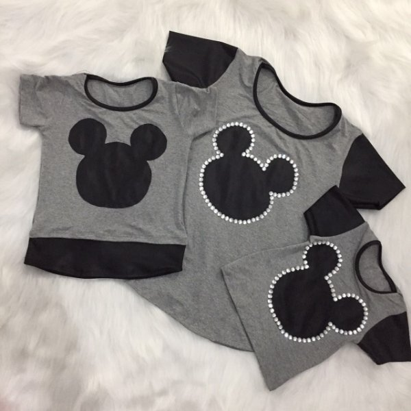T shirt Mickey Mãe e Filha