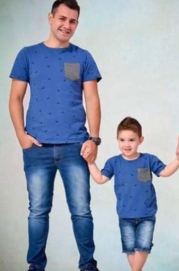 T shirt Piquet Pai e Filho