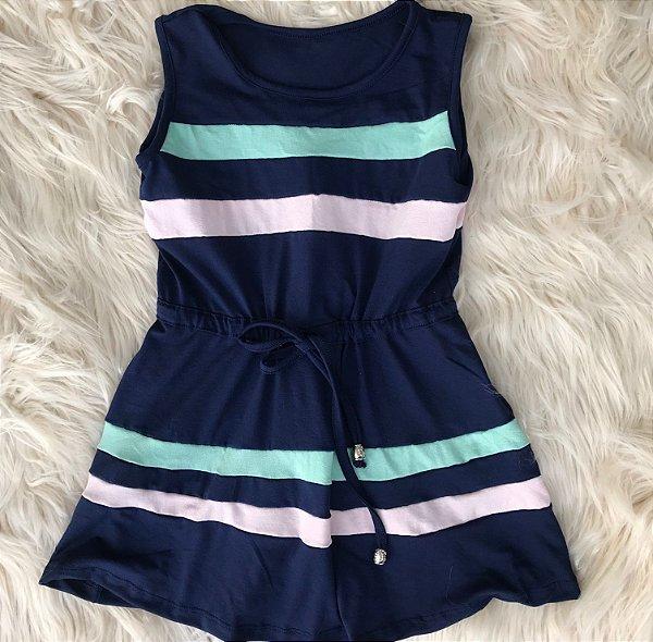 Vestido 2 cores Infantil 4