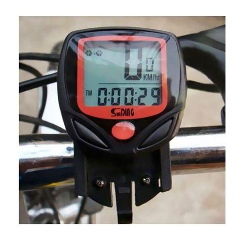 Ciclo Computador Velocímetro Bike Com Fio A Prova D'água