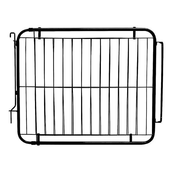 Portão Pet Extensivo - Para Portas de 99 cm a 155 cm - Preto