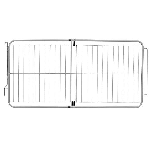 Portão Pet Extensivo - Para Portas de 99 cm a 155 cm - Branco