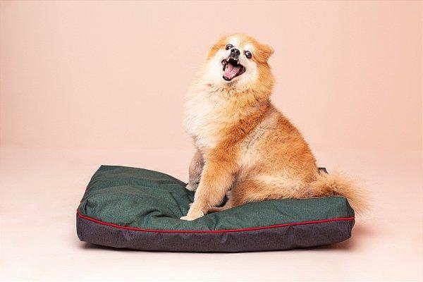 Almofada para Cachorro Mabuu Pet - Nylon Verde