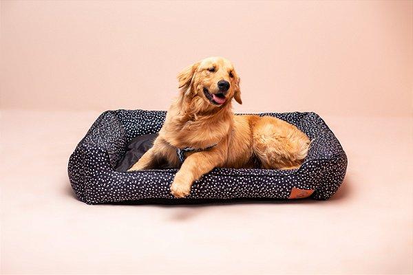 Cama para Cachorro Mabuu Pet - Dots Preta