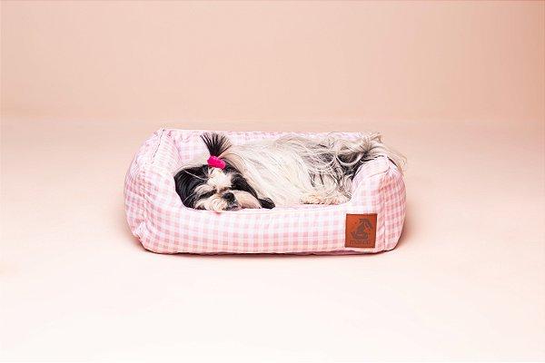 Cama para Cachorro Mabuu Pet - Vichy Rosa