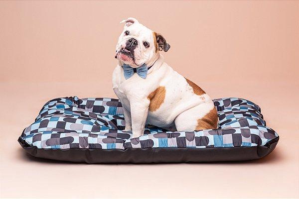 Colchonete para Cachorro Mabuu - Abstrato Azul