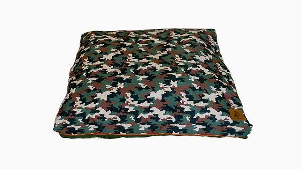 Almofada para Cachorro Mabuu Pet - Camuflado Verde