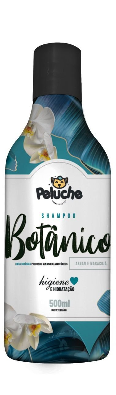Shampoo Premium Botânico 500 ml - Peluche