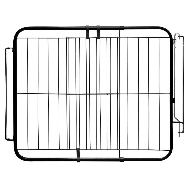 Portão Pet Extensivo - Para Portas de 74 cm a 115 cm - Preto
