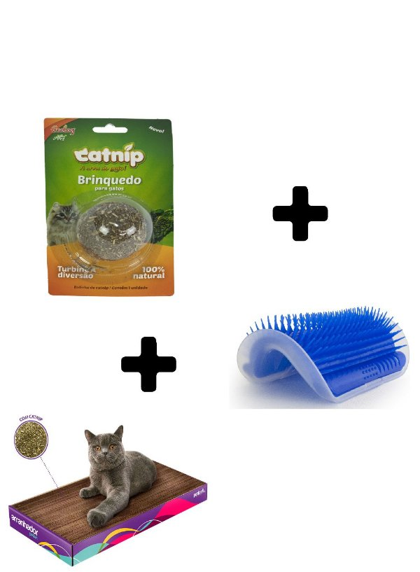 Kit Catnip para Gatos