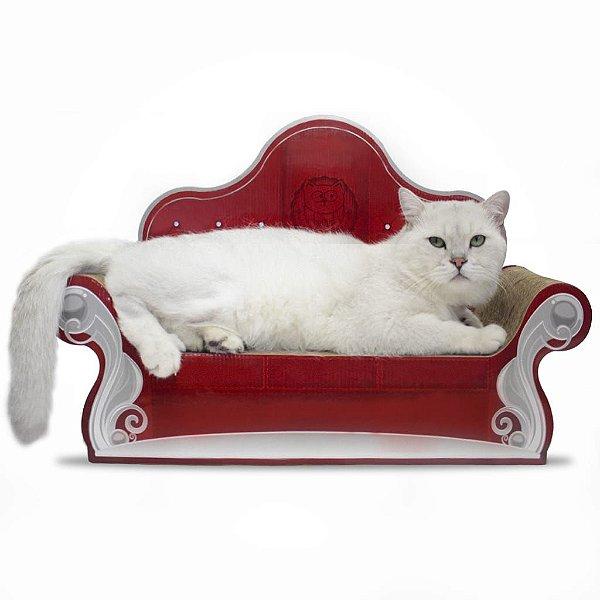 Cat Sofá Arranhador - Vermelho