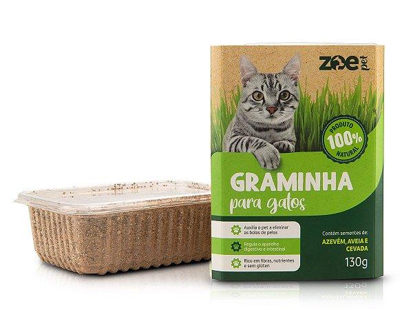 Graminha para Gatos - 100% Natural