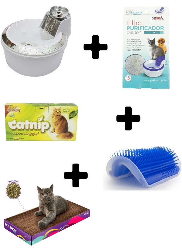 Kit Completo para Gatos