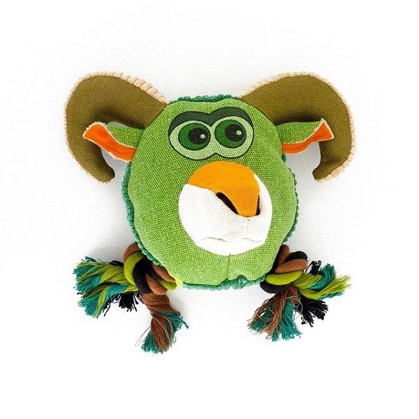 Brinquedo de Lona com Apito - Bode - Verde