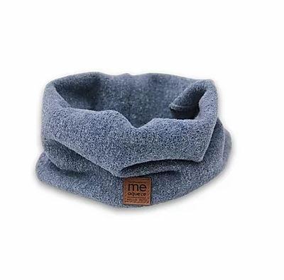 Cachecol para Cães e Gatos Tubo - Azul - Tamanho G