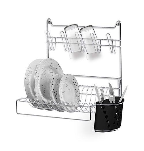 Escorredor de pratos de parede