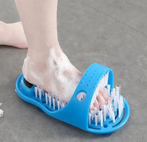 Chinelo escova para pés