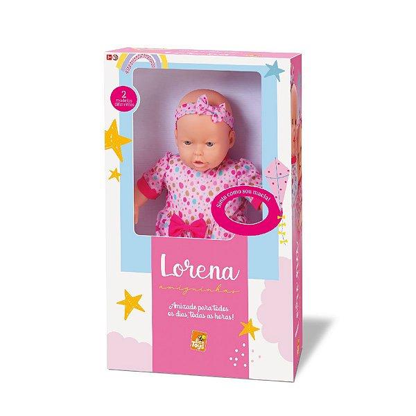 Boneca Lorena Amiguinha