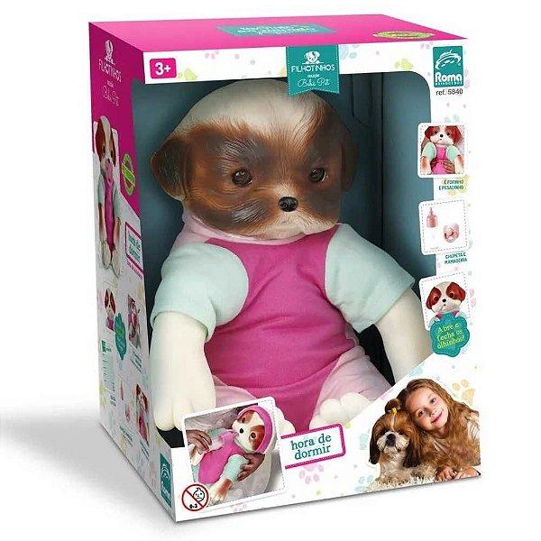Bebe Pet Reborn Filhotinho 5840