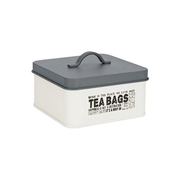 Conjunto de potes para Chá, temperos e açucar