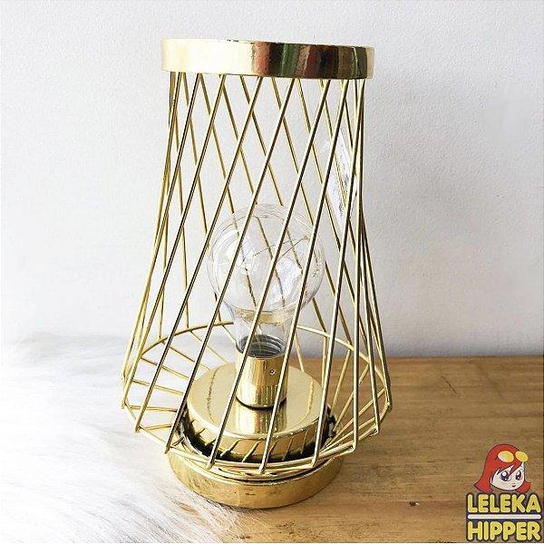 Luminária geométrica com led