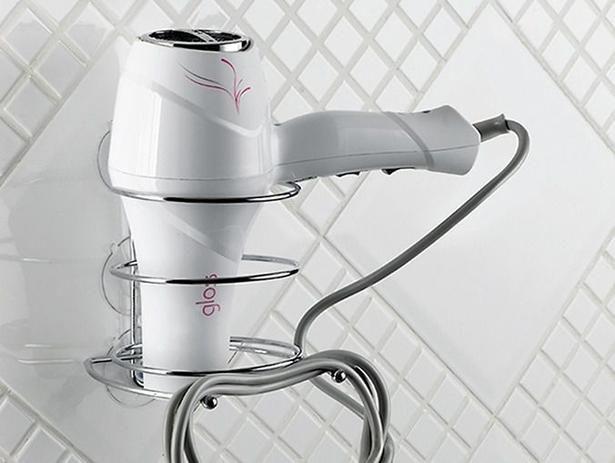 Suporte para secador de cabelos