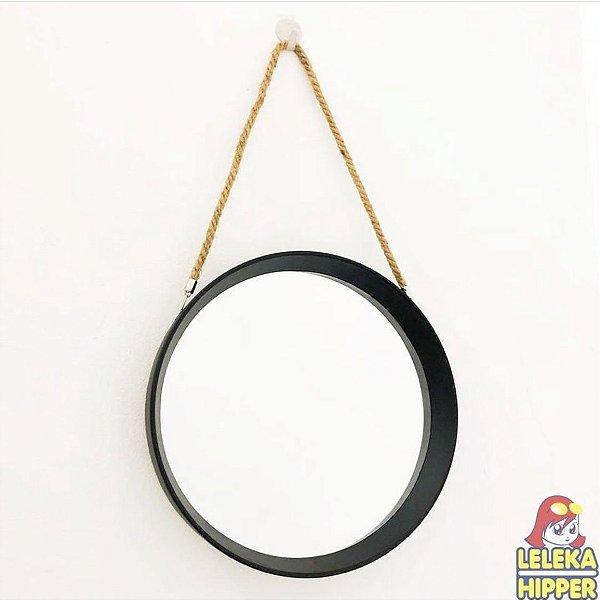 Espelho Adnet com alça corda