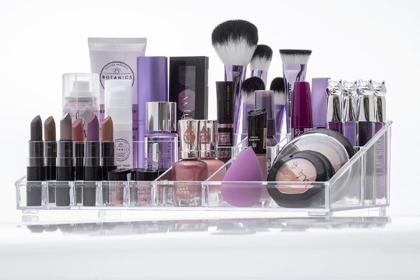 Organizador de cosméticos e maquiagem