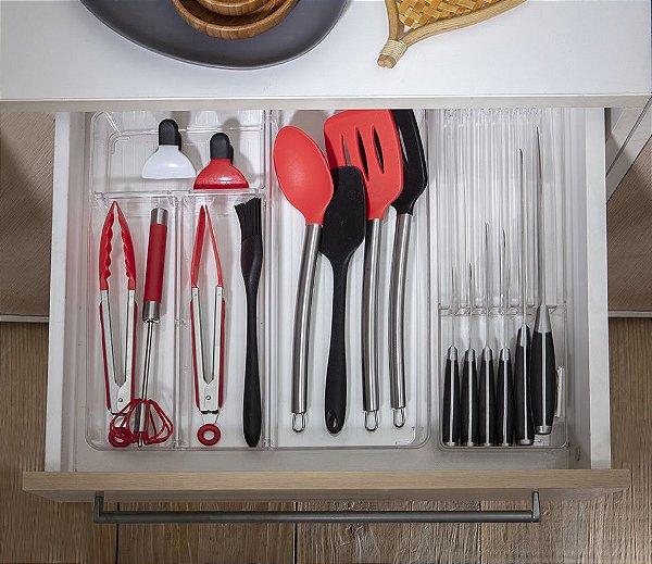 Organizador porta facas