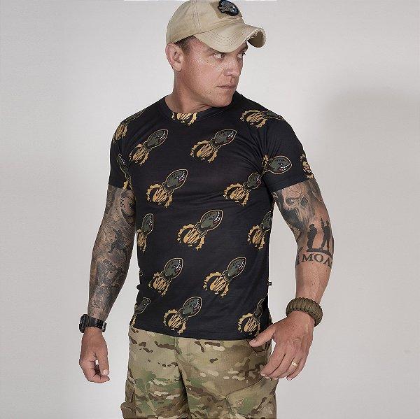 Camiseta Masculina Básica Rocket