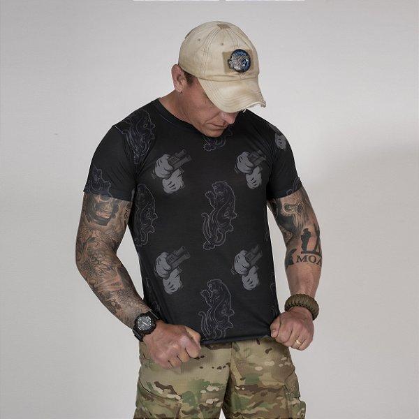 Camiseta Masculina Básica Night Ops