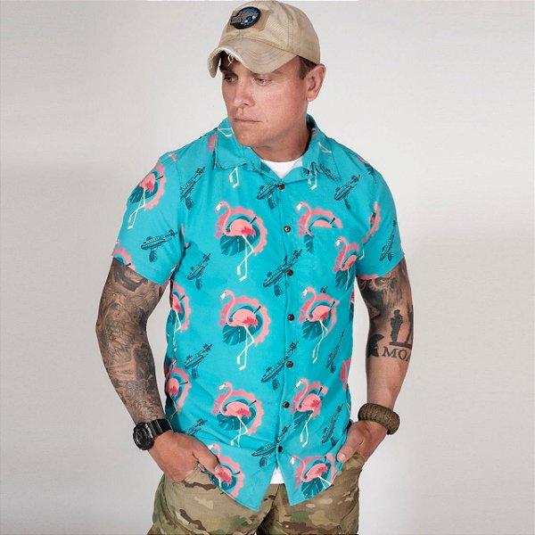 Camisa de Botão Unissex Vegas