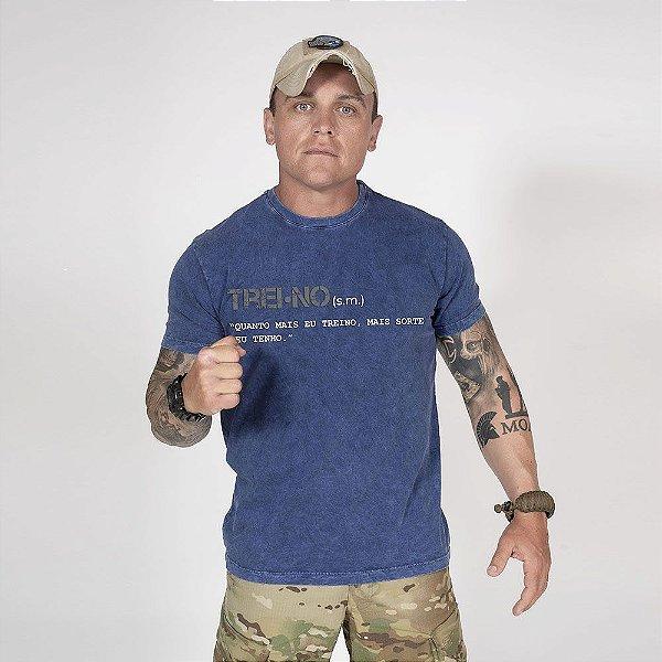 Camiseta de Algodão Estonada Marinho Sky Training Concept