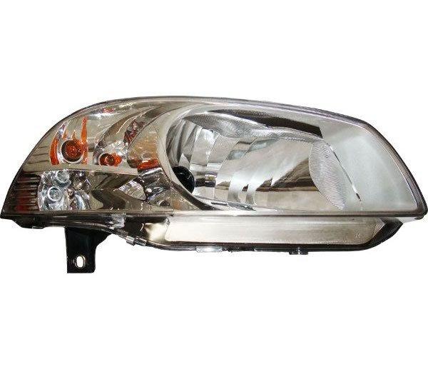 Farol H4 Ld C Pisca Máscara Cromada Fiat Palio FF488LD