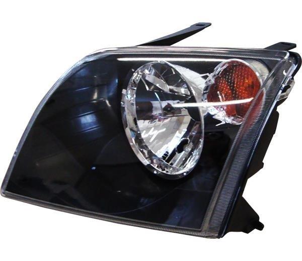Farol H4 Le C Pisca Cristal Ecosport Máscara Negra FD417LE