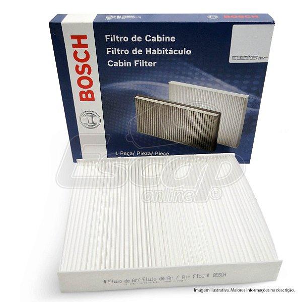 Filtro Cabine Bosch Mercedes Actros 2651 Bluetec 6X4 0986Bf0669 2016..