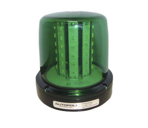 Giroled Verde  54Leds Smd 12  24V  Bivolt  7Efeitos De Luz
