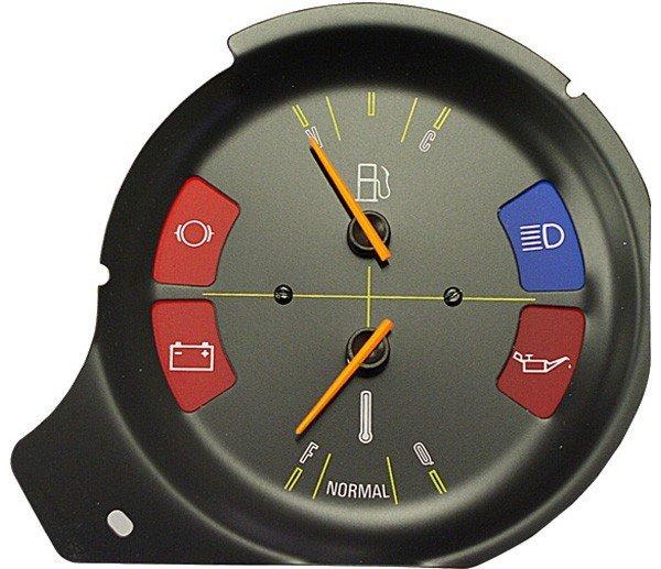 Instrumento Combinado Painel Corcel Ii 79>84Belina Ii 78>83 Relogio Marcador De Combustívelinicador De Temperatura (Fixa