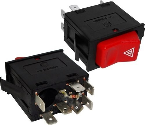 Interruptor Emergencia Advertencia 12v Mercedes Cam Onib 03040200