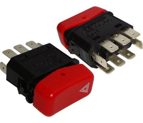 Interruptor Emergencia Advertencia 24v Mercedes Cam Onib 03931101