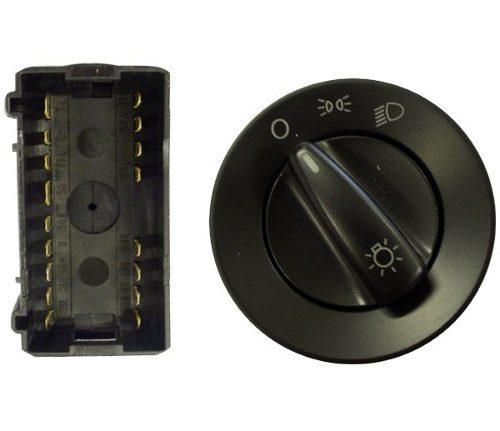 Interruptor Luz 12v Vermelho S Reostato Vw Gol 04052334