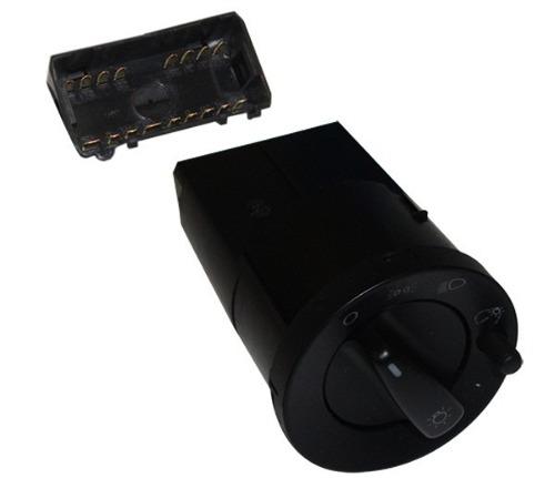 Interruptor Luz Farol Duplo C Reostato Gol Parati 04052331