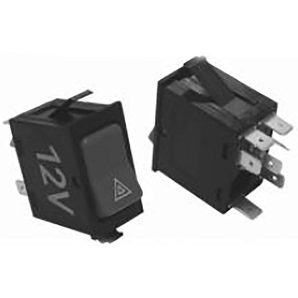 Interruptor Pisca Alerta 12V Ford Cargo 05/15 4C4513A350Ab