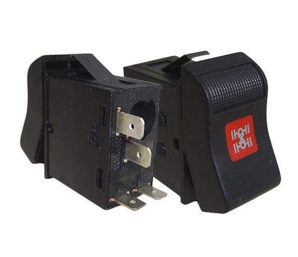 Interruptor Tecla 12V 24V Bloq Diferencial Vw Cam 03813983