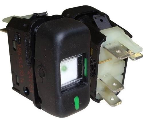 Interruptor Tecla 24v Preto 1 Posicao Mercedes Cam Onib 03931001