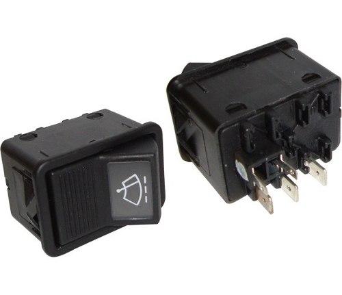 Interruptor Tecla Limpador Mercedes Ônibus  Caminhoes  03833175