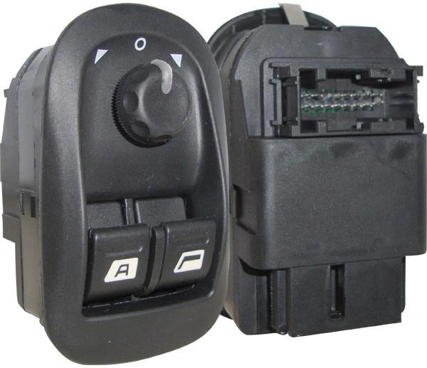 Interruptor Vidro Elétrico C Retrovisor Peugeot 206 550002