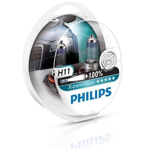 Kit Lâmpada H11 12v 55w Xtreme Vision 100% Mais Luz 3500k