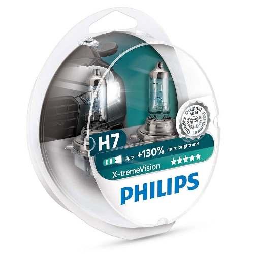 Kit Lâmpada H7 12v 55w Xtreme Vision 130% Mais Luz 3500k